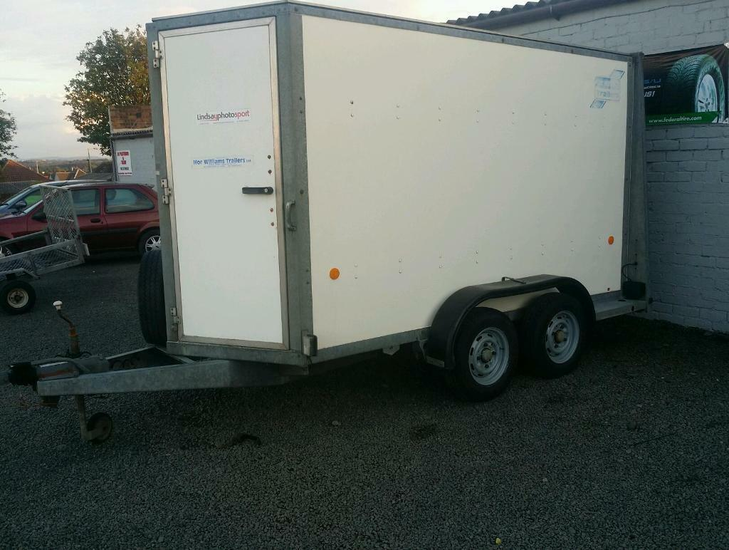 Le Meilleur Ifor Williams Bv105 Box Trailer With Roller Shutter Door Ce Mois Ci