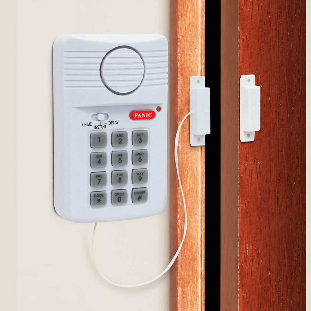 Le Meilleur New Wireless Door Alarm For Shed Garage Caravan Security Ce Mois Ci