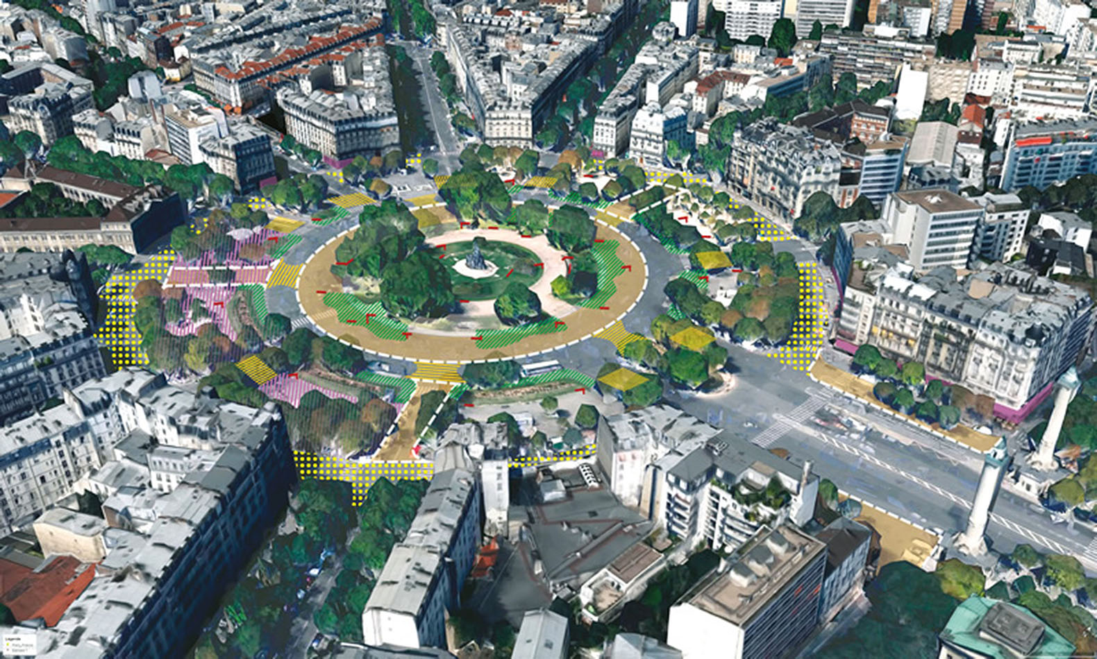Le Meilleur Paris Redesigns Its Squares And Intersections To Create Ce Mois Ci