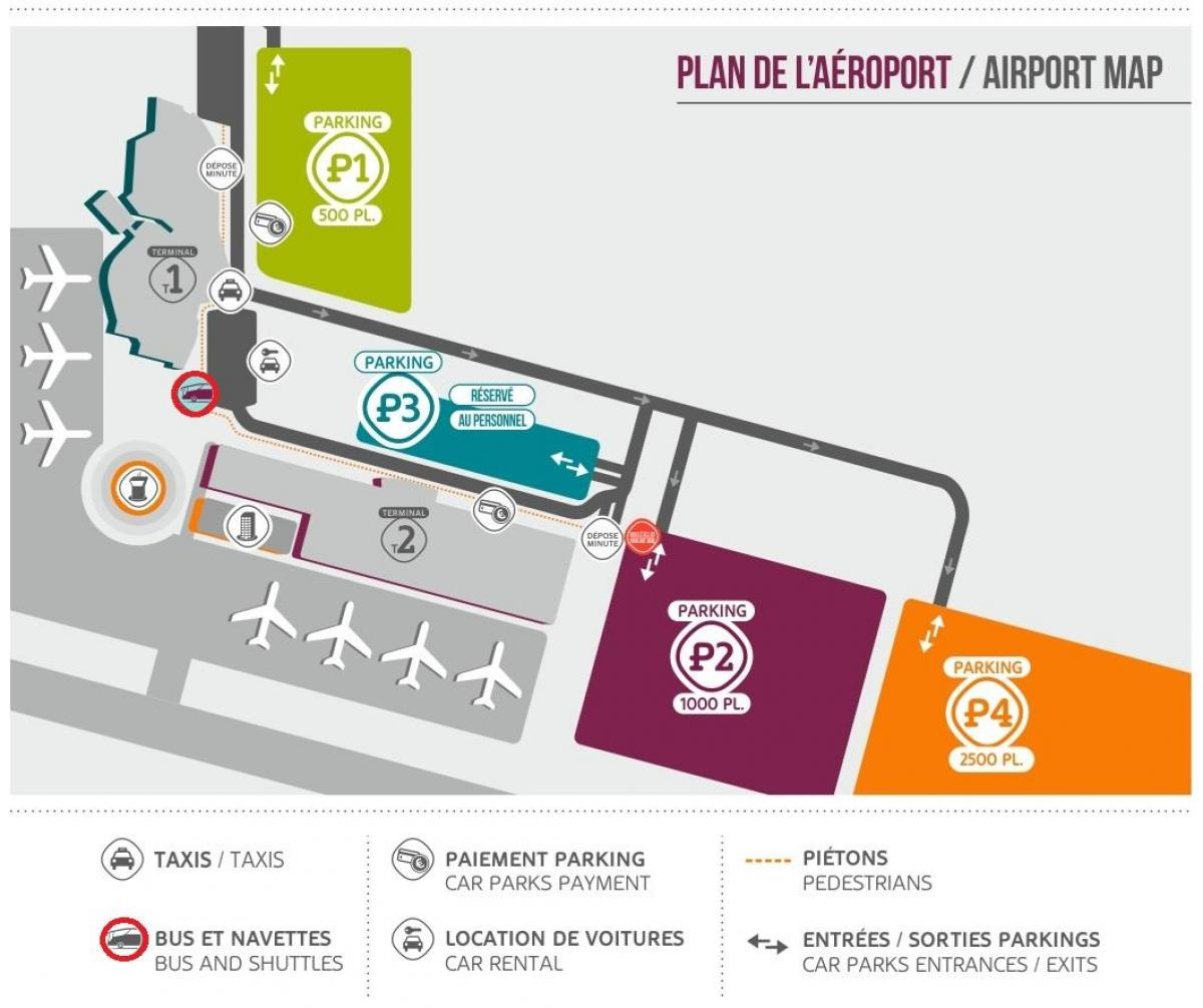 Le Meilleur Beauvais Airport Parking Map Map Of Beauvais Airport Ce Mois Ci