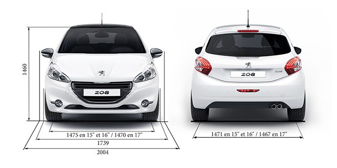 Le Meilleur Technical Data And Specifications Peugeot 208 Gti Sports Ce Mois Ci