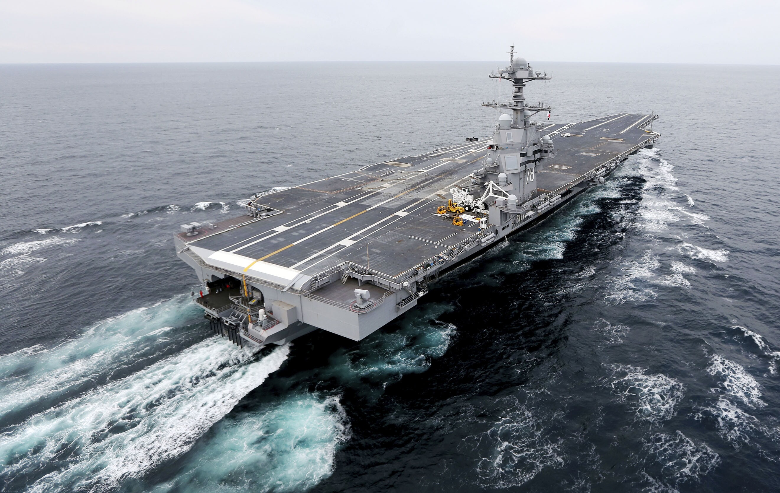 Le Meilleur Too Big To Sail Us Aircraft Carriers Could Go The Way Of Ce Mois Ci