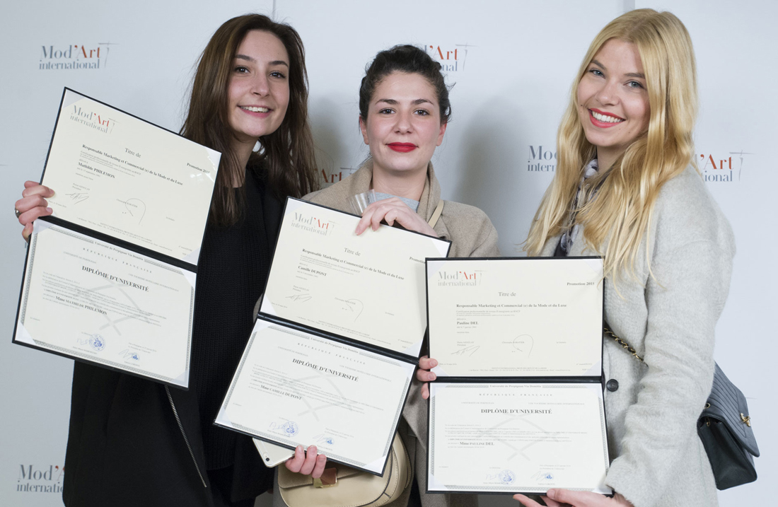 Le Meilleur Les Diplômes De Mod'art International Mod Art International Ce Mois Ci