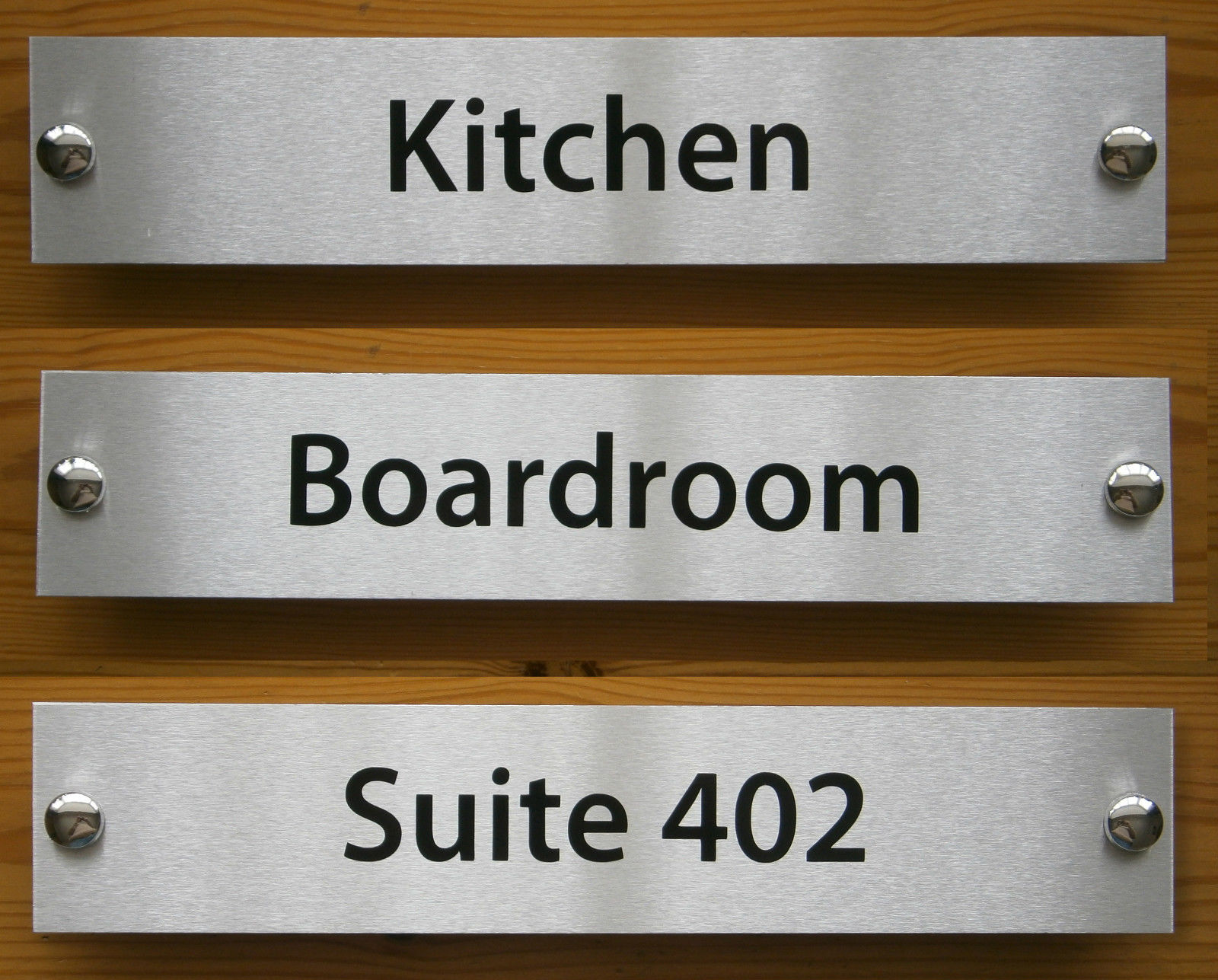Le Meilleur Personlised Office Door Signs 300Mm X 60Mm Brushed Ce Mois Ci