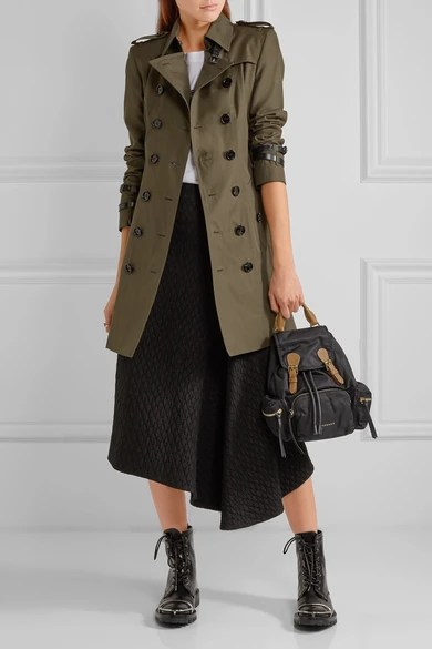 Le Meilleur Burberry Queensborough Mid Length Cotton Gabardine Ce Mois Ci