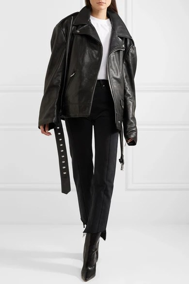 Le Meilleur Vetements Schott Nyc Perfecto Emo Oversized Textured Ce Mois Ci