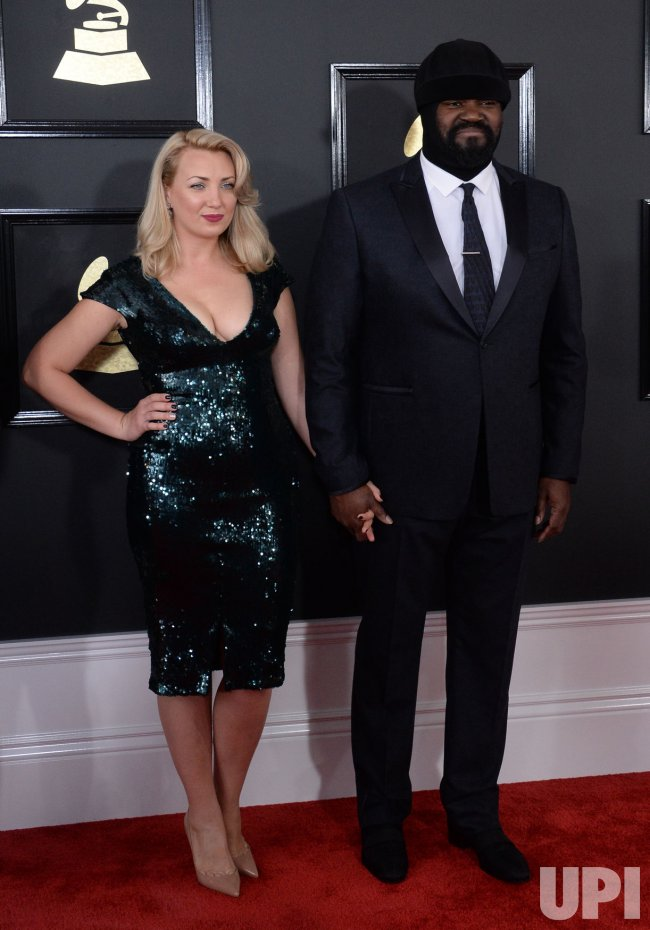 Le Meilleur Victoria Porter And Gregory Porter Arrive For The 59Th Ce Mois Ci