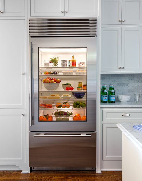 Le Meilleur Glass Front Refrigerator With Freezer Drawer Ce Mois Ci