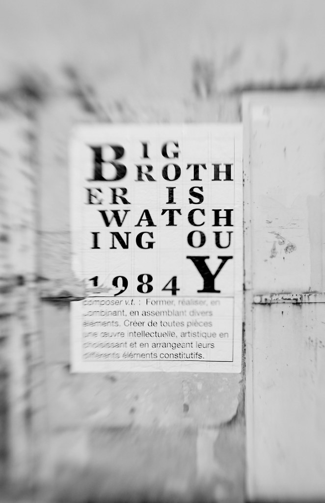 Le Meilleur Big Brother Is Watching You 1 Mon Compte Twitter Ce Mois Ci