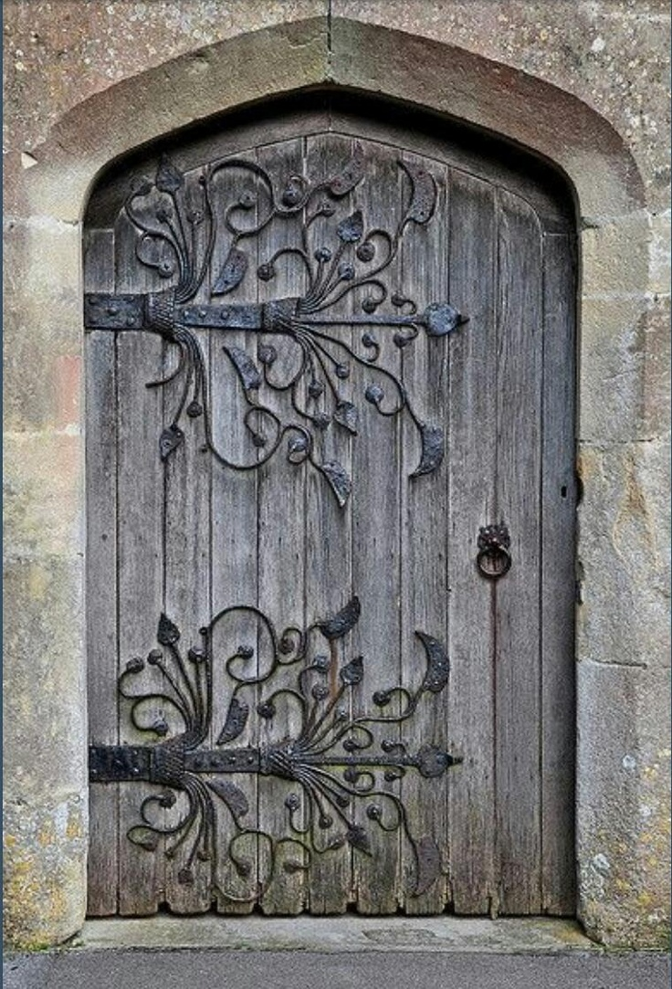 Le Meilleur Beautiful Rustic Door Absolutely Love The Hardware Design Ce Mois Ci