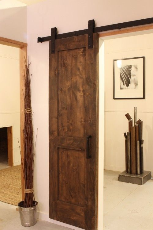 Le Meilleur Hanging Rustic Sliding Door Maybe For The Game Room I Ce Mois Ci