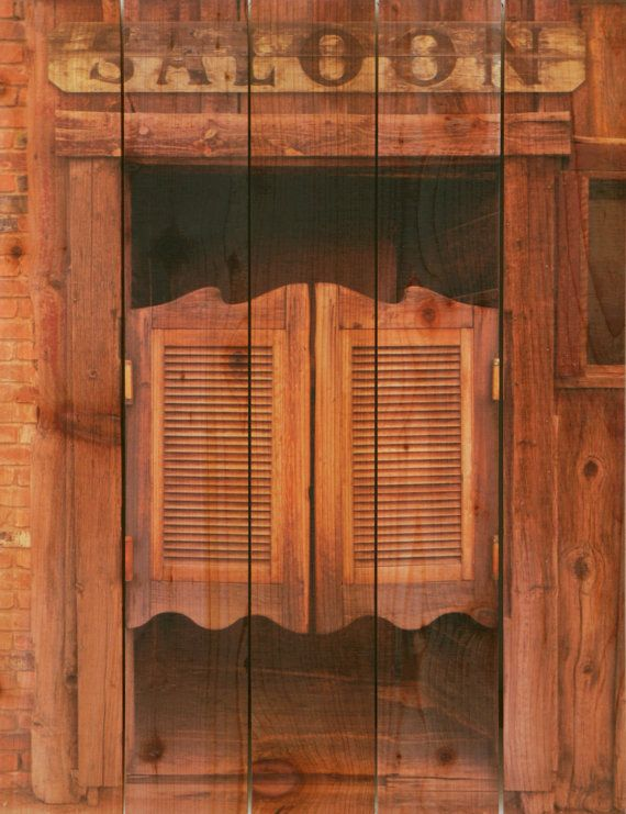 Le Meilleur 28X36 Saloon Door On Cedar Inside Outside Wall Hanging Ce Mois Ci
