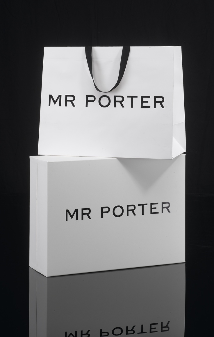 Le Meilleur Mr Porter Embossed Paper Carrier And Rigid Two Piece Box Ce Mois Ci