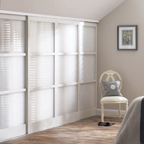 Le Meilleur Mirrored Closet Doors With Wood Inlay Glass Sliding Ce Mois Ci