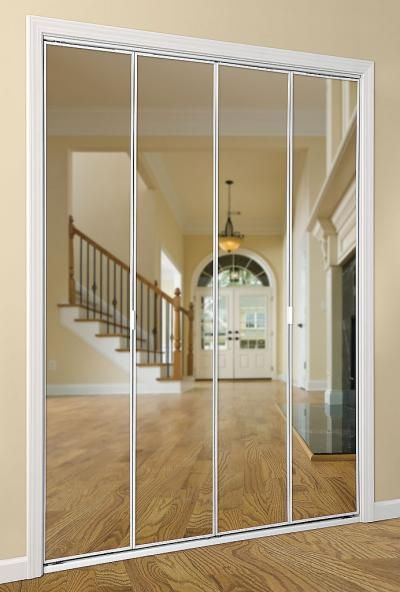 Le Meilleur 1000 Ideas About Mirrored Bifold Closet Doors On Ce Mois Ci