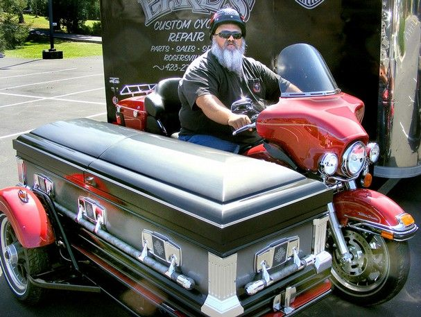 Le Meilleur Harley Hearse Sidecar Edition Motorcycle Scooter Ce Mois Ci