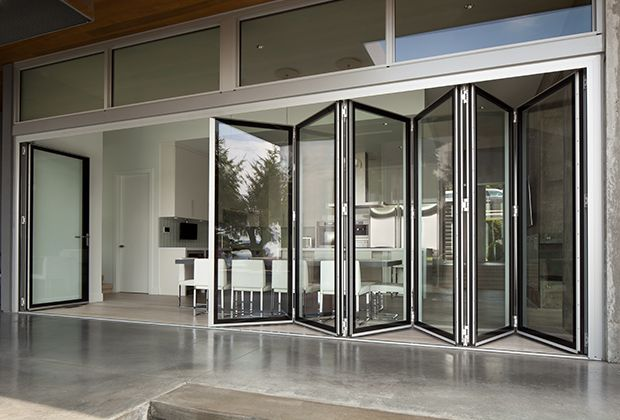 Le Meilleur Folding Glass Walls Eight Systems Of Connected Bi Fold Ce Mois Ci