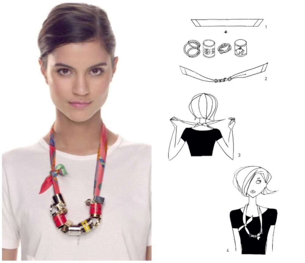 Le Meilleur How To Tie A Scarf Hermès Scarf Knotting Cards Twilly Ce Mois Ci