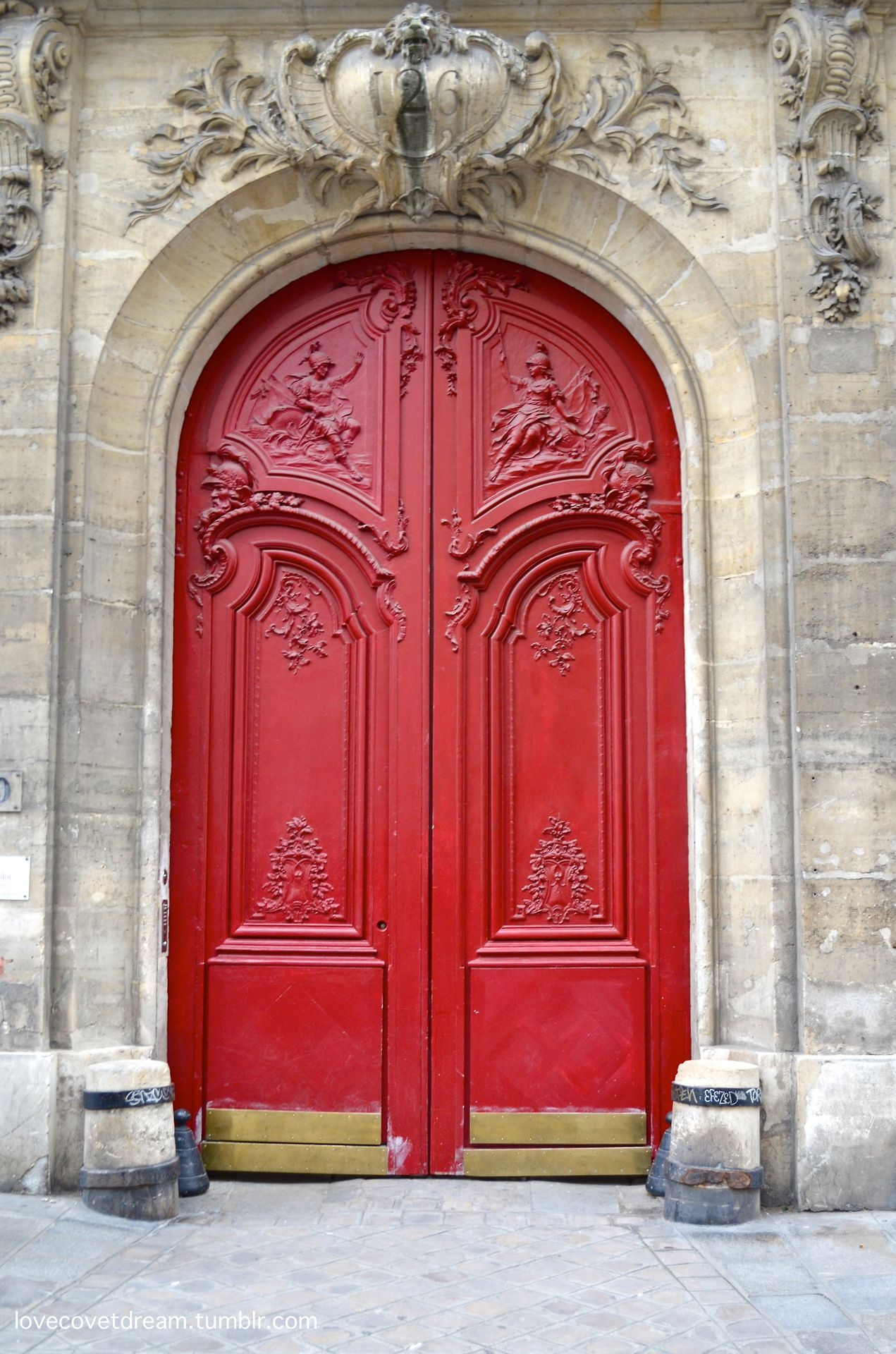 Le Meilleur Beautiful Red Door Paris France Inviting Home Inspired Ce Mois Ci
