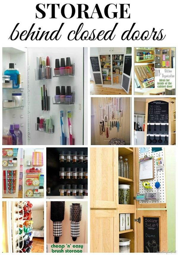 Le Meilleur Storage Behind Closed Doors Creative Extra Storage And Ce Mois Ci