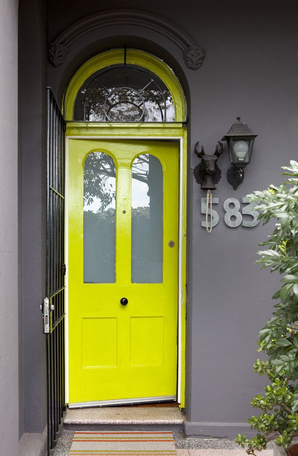 Le Meilleur Home Envy Neon Yellow Yellow Doors And Neon Ce Mois Ci