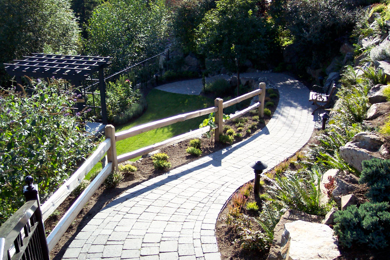 Abbotsford Landscape Company Rocky Mountain Landscaping ... on Mountain Backyard Ideas id=62495
