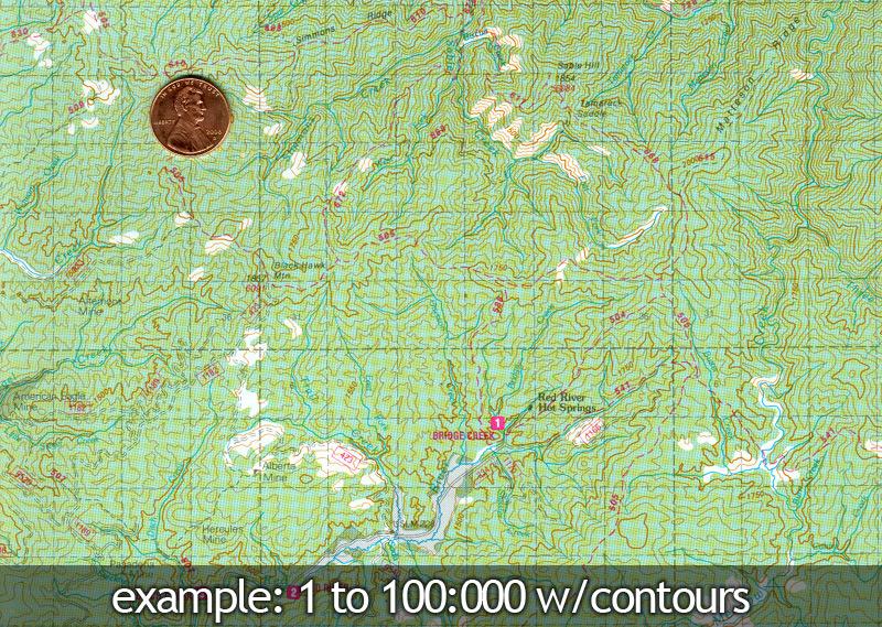 Trail Lolo Montana Map