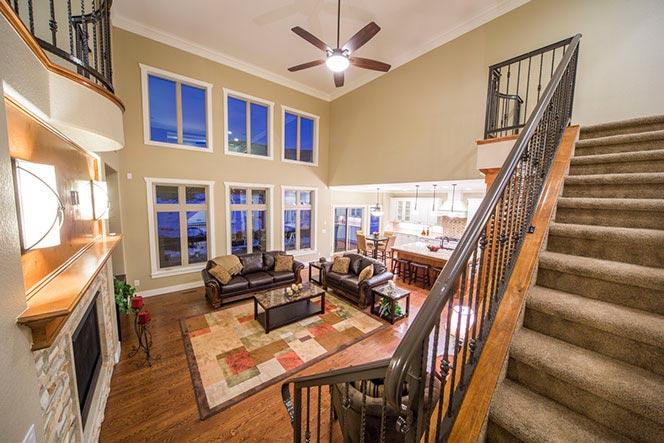 custom home at plum creek golf course castle rock colorado for sale