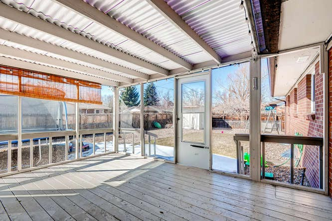 sunroom aurora ranch home for sale