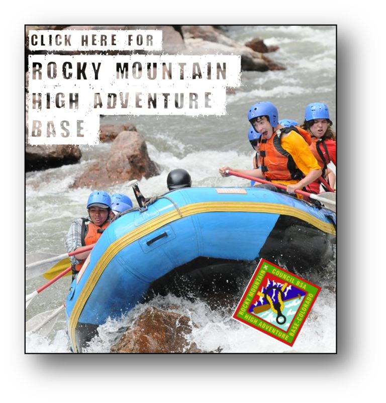 Click here to find out more about Rocky Mountain High Adventure Base.