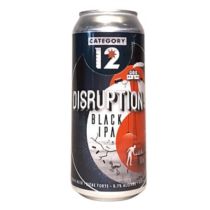 Category 12 Disruption Black IPA