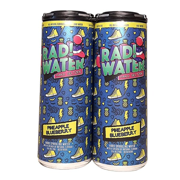 Town Square Rad Water Blueberry