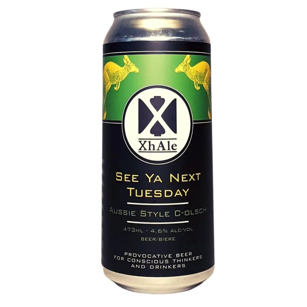 XHale See Ya Next Tuesday Kolsch
