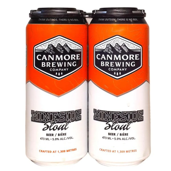 Canmore Brewing Mineside Stout