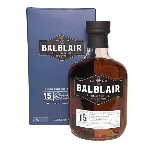 Balblair 15 year Single Malt Scotch Whisky