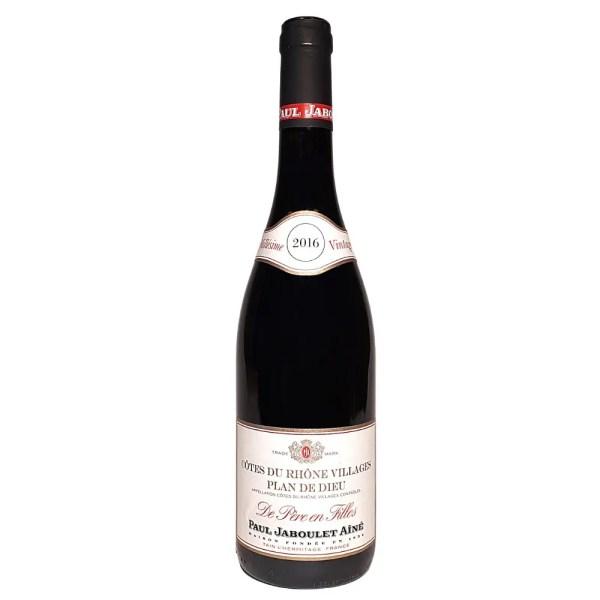 Jaboulet Cotes du Rhone Plan de Dieu Red Wine