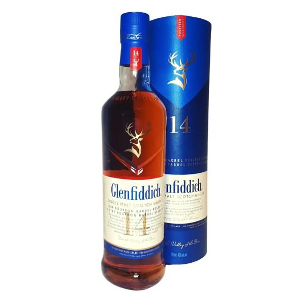 Glenfiddich 14 year old Single Malt Scotch Whisky