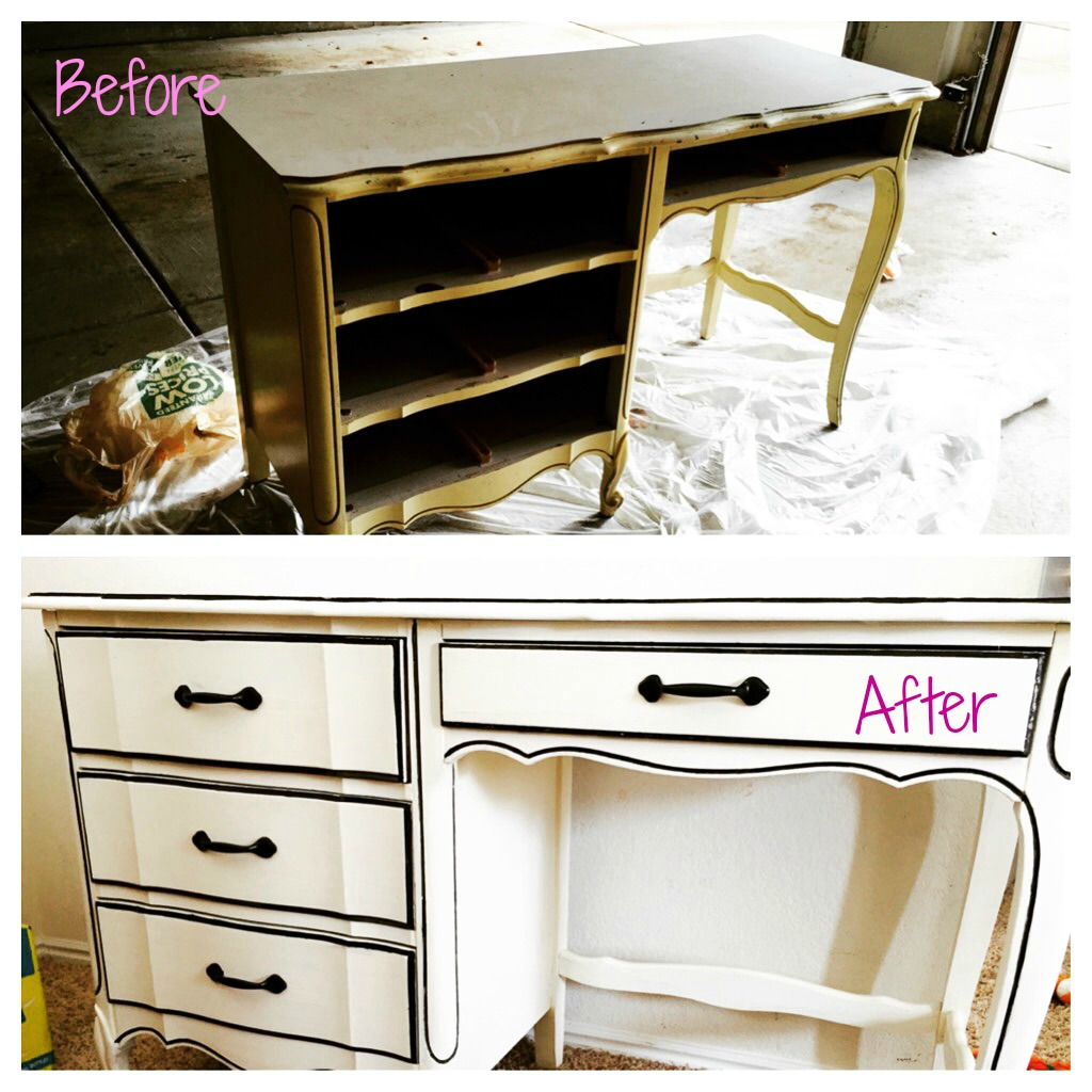 Chalk Paint Desk