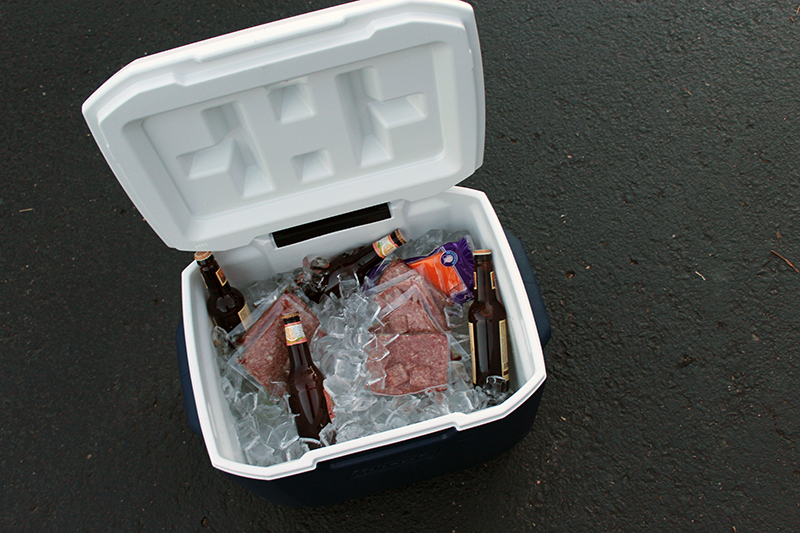 Fill your cooler and get on the road to the game.
