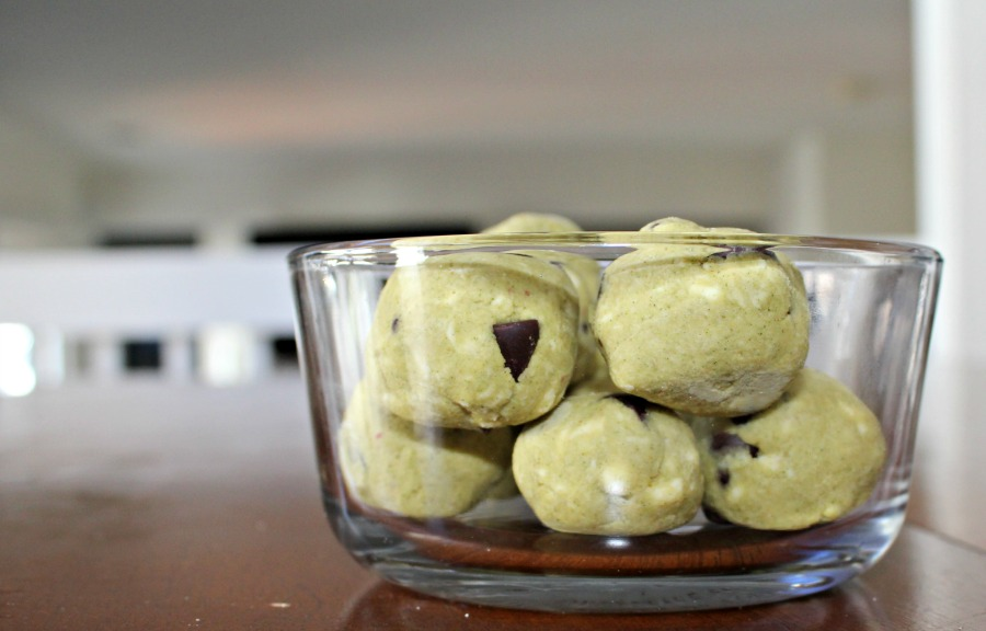 Gluten Free Protein Balls made with Garden of Life RAW Protein and Greens