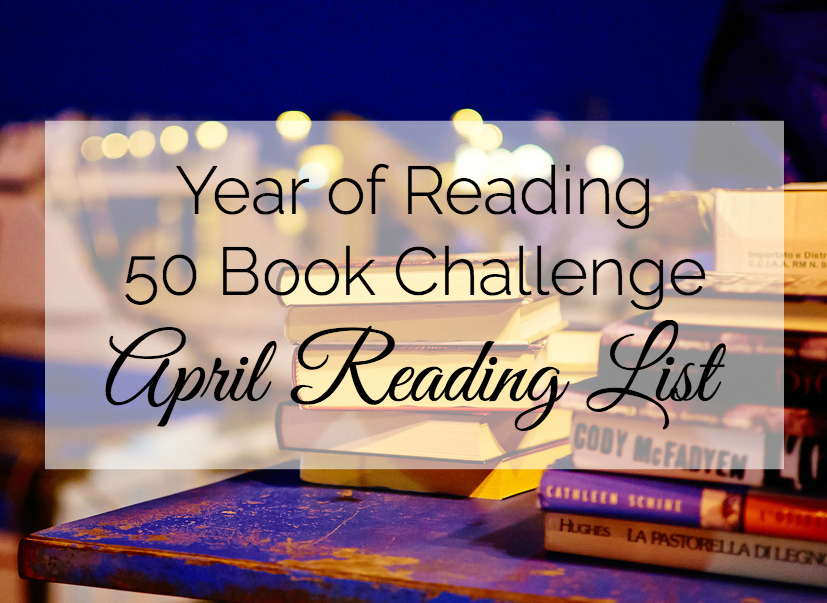 Can you finish the 50 book challenge? Follow along and see how many books you can read this year.