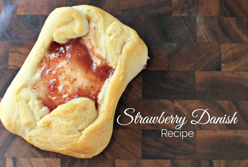 Strawberry Danish recipe
