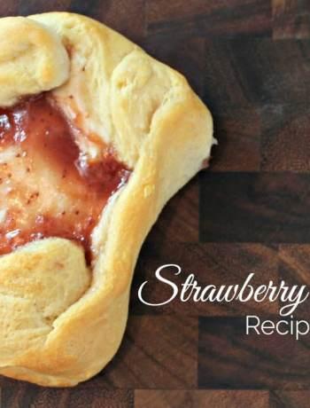Strawberry Danish recipe