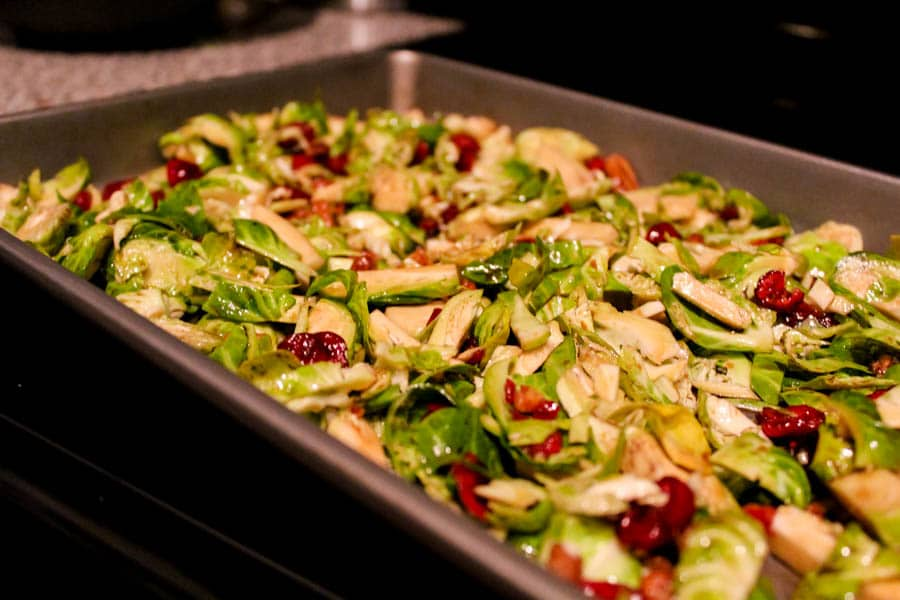 How to make brussel sprout hash