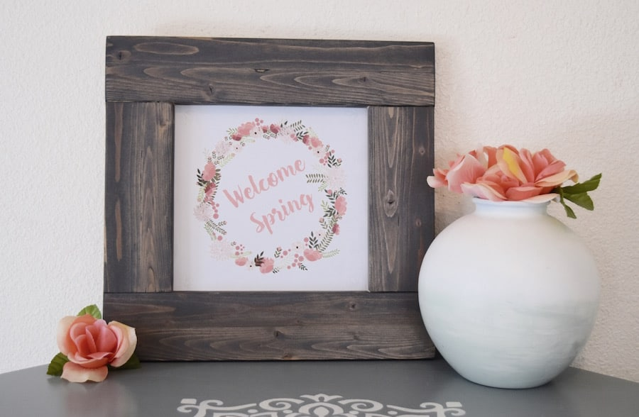How to Make Your Own Barnwood Frame - Rocky Mountain Bliss