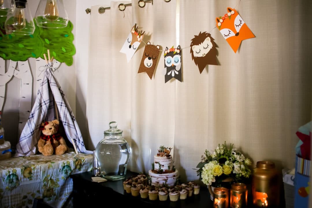 Woodland Baby Shower Decor Rocky Mountain Bliss
