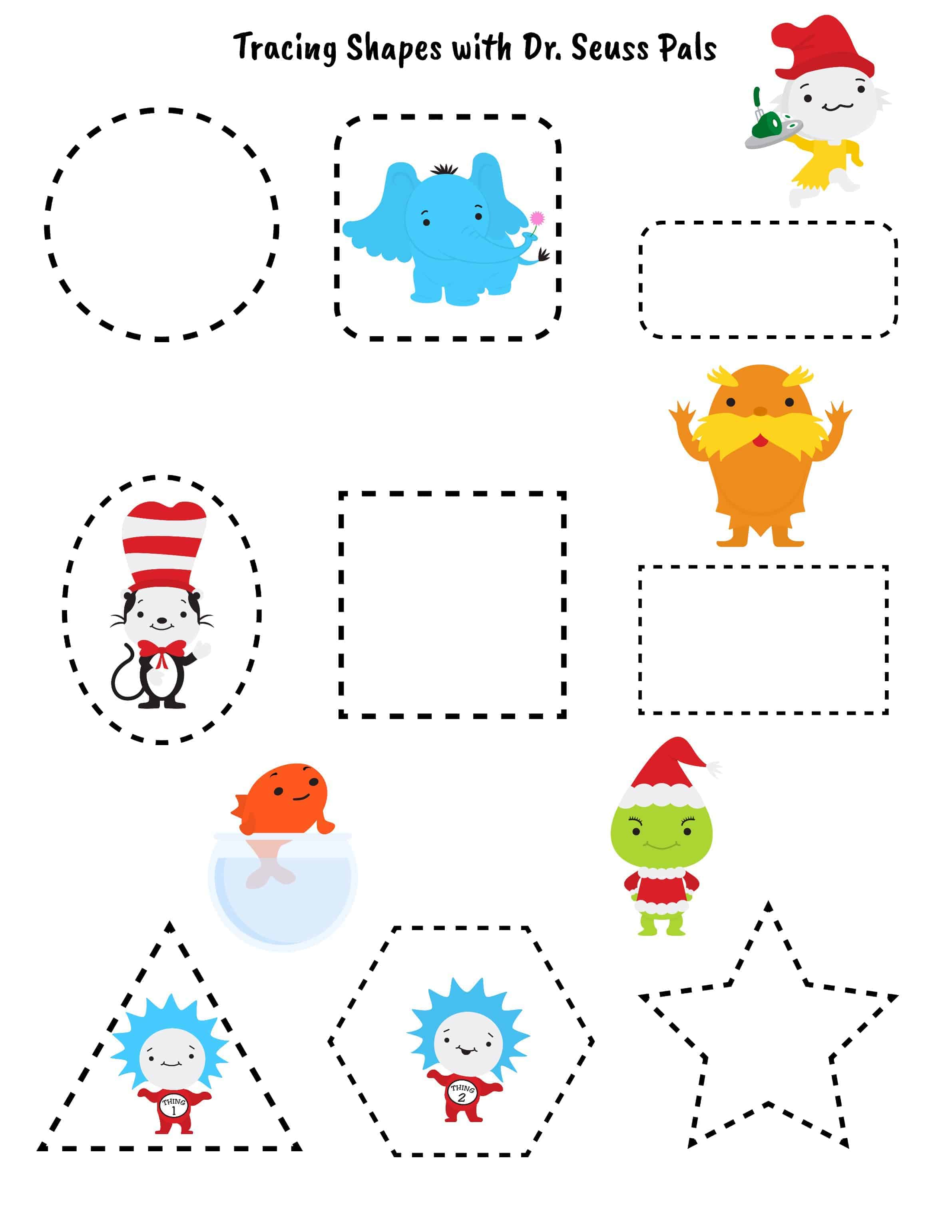 Learning Fun Activities With Dr Seuss Pals Updated