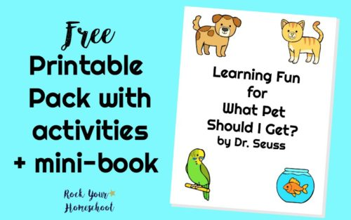Free Printables for What Pet Should I Get? - Rock Your Homeschool