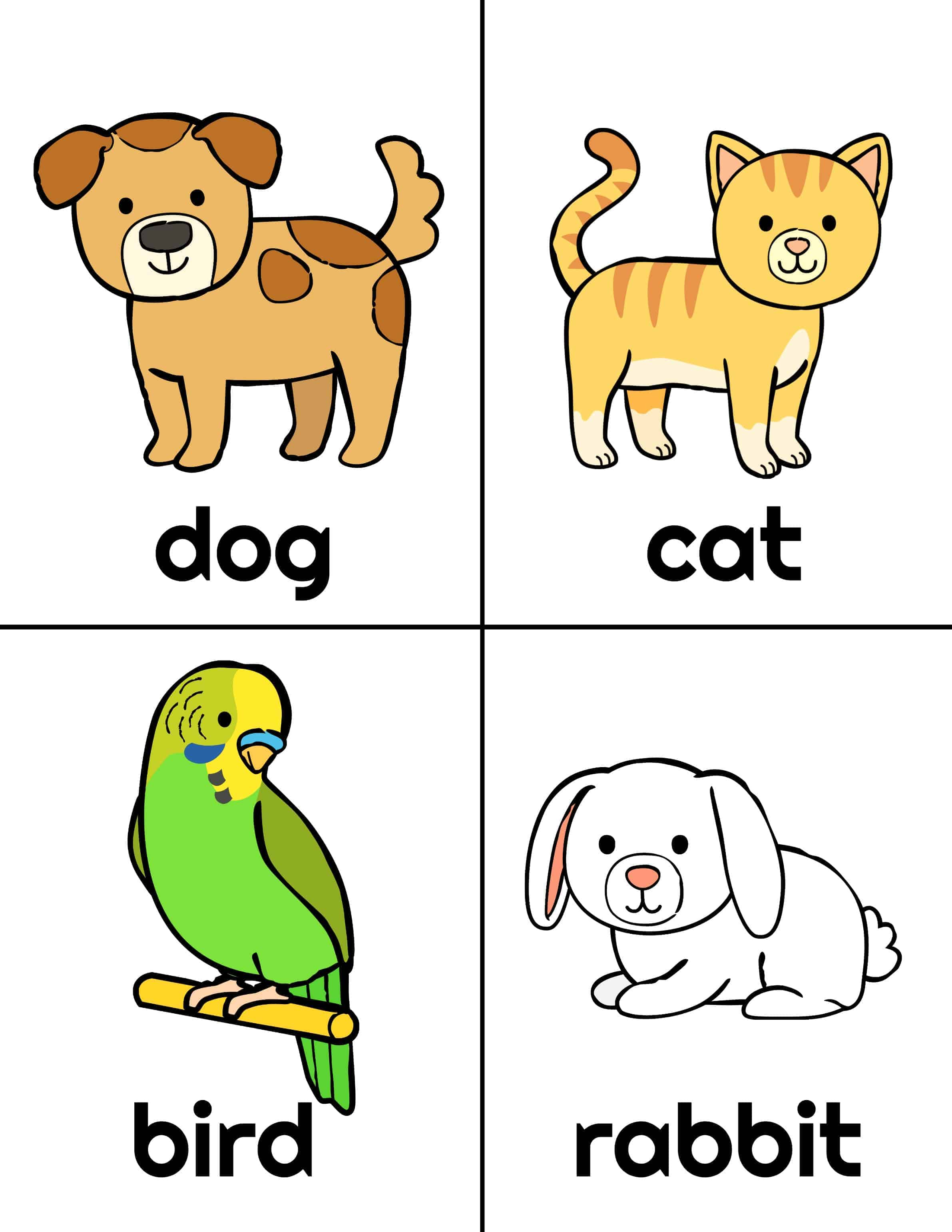 What Pet Should I Get Printables