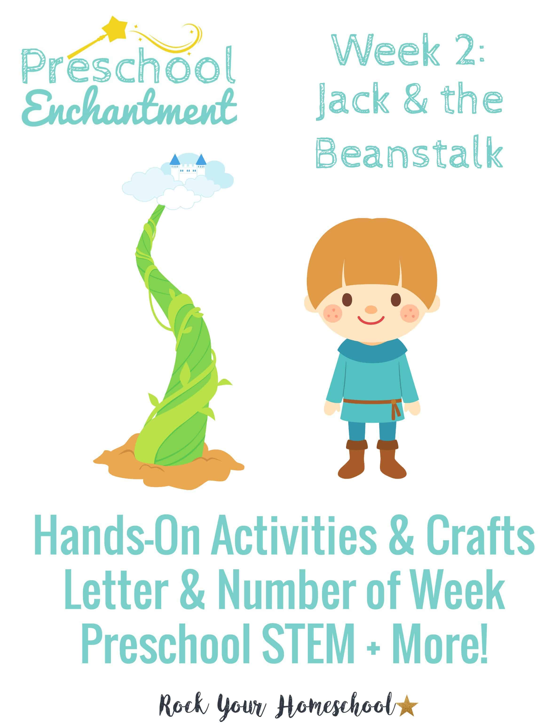 Preschool Enchantment Week 2 Jack Amp The Beanstalk